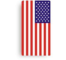 US National Flag Canvas Print