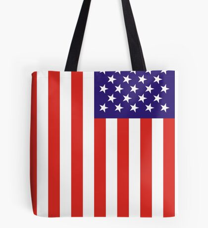 US National Flag Tote Bag