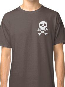 HARLOCK SYMBOL WHITE ON BLACK Classic T-Shirt