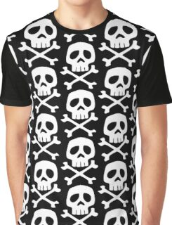 HARLOCK SYMBOL WHITE ON BLACK Graphic T-Shirt