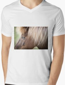 Icelandic Pony  Mens V-Neck T-Shirt