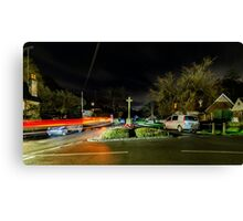 Peaslake village Canvas Print