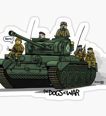 The Dogs of War: Comet Sticker