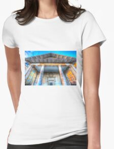 St Paul's Actors Church Covent Garden  Womens Fitted T-Shirt