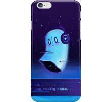 Oh..., you really came... iPhone Case/Skin