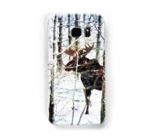 Painted Moose Samsung Galaxy Case/Skin