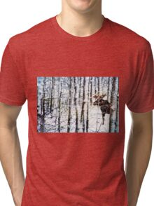 Painted Moose Tri-blend T-Shirt