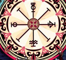 Wheel Of Fortune Sticker