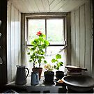 Still Life with Geraniums II by Ludwig Wagner