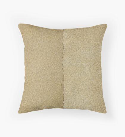 Halfsies Throw Pillow