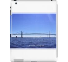 Chesapeake Bay Bridge iPad Case/Skin