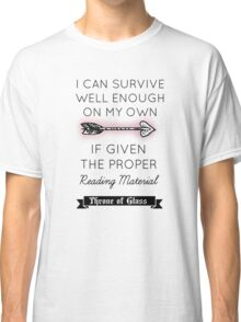Throne of Glass - Quote Classic T-Shirt