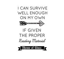 Throne of Glass - Quote by thebookstheppl