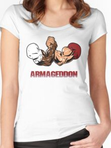 Armageddon Women's Fitted Scoop T-Shirt