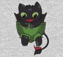 Hiccup Toothless pocket One Piece - Long Sleeve