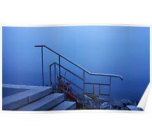 The Handrail at Lake Geneva..........France Poster