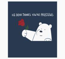Ice Bear Thinks You're Precious Baby Tee