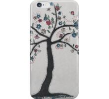 Tree in bloom iPhone Case/Skin