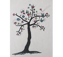 Tree in bloom Photographic Print