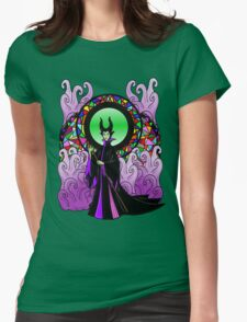 """""""All Hail Maleficent!"""" Womens Fitted T-Shirt"""