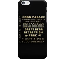 South Dakota Famous Landmarks iPhone Case/Skin
