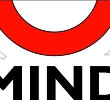 TUBE, London, Underground, Mind the gap, BRITISH, BRITAIN, UK, English, on WHITE Sticker