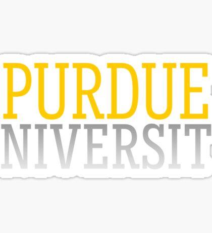 Purdue Sticker