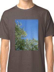 Leaf-Framed Sky Classic T-Shirt