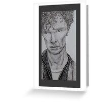 Benedict Cumberbatch Greeting Card