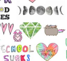 Colorful Tumblr Art Sticker