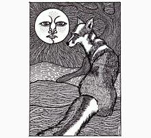 fox~black and white Unisex T-Shirt