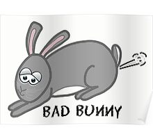 Bad Bunny Poster