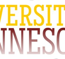 University of Minnesota Sticker