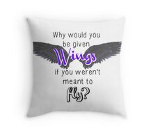 The Strange and Beautiful Sorrows of Ava Lavender - Quote Throw Pillow