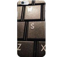 keyboard. iPhone Case/Skin