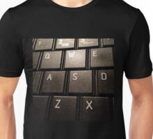keyboard. Unisex T-Shirt