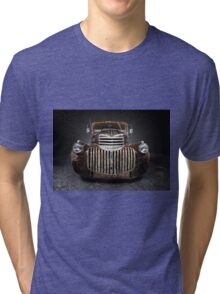 1946 Chevrolet Pickup Rat Rod Tri-blend T-Shirt