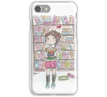 She Loves a Good Book iPhone Case/Skin