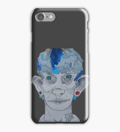 Punx Not Dead iPhone Case/Skin