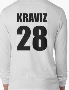 Kraviz 28 (Nina Kraviz) - techno tshirt Long Sleeve T-Shirt