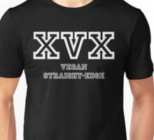 XVX VEGAN STRAIGHT EDGE Unisex T-Shirt