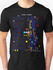 Pac-Man Glitch Level T-Shirt