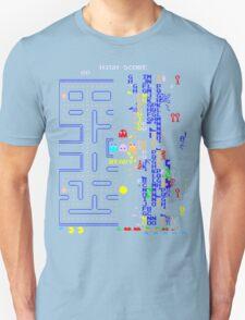 Pac-Man Glitch Level Unisex T-Shirt