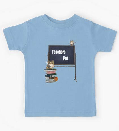 Teachers Pet  Kids Tee