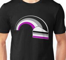 Asexual/Demisexual Rainbow & Cake Unisex T-Shirt