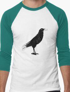 Black crow Men's Baseball ¾ T-Shirt
