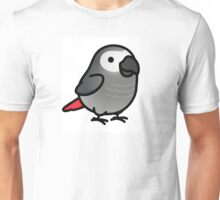 Chubby African Grey Unisex T-Shirt