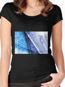 abstract background Women's Fitted Scoop T-Shirt