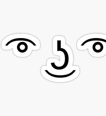 ( ͡° ͜ʖ ͡°) Le Lenny Face Sticker