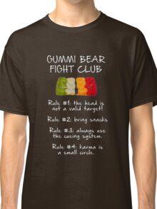 Gummi Bear Fight Club Classic T-Shirt